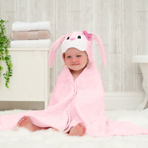 Personalised Bunny Children's Hooded Towel