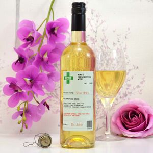 Personalised Prescription Wine For Mum - rose wine