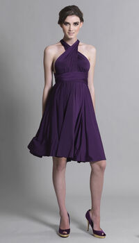 Multiway Knee Length Bridesmaid Dress