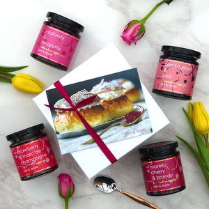 Mother's Day Luxury Gift Set Of Jams - gifts to eat & drink