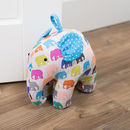 Elephant Parade Spotty Herd Shaped Doorstop