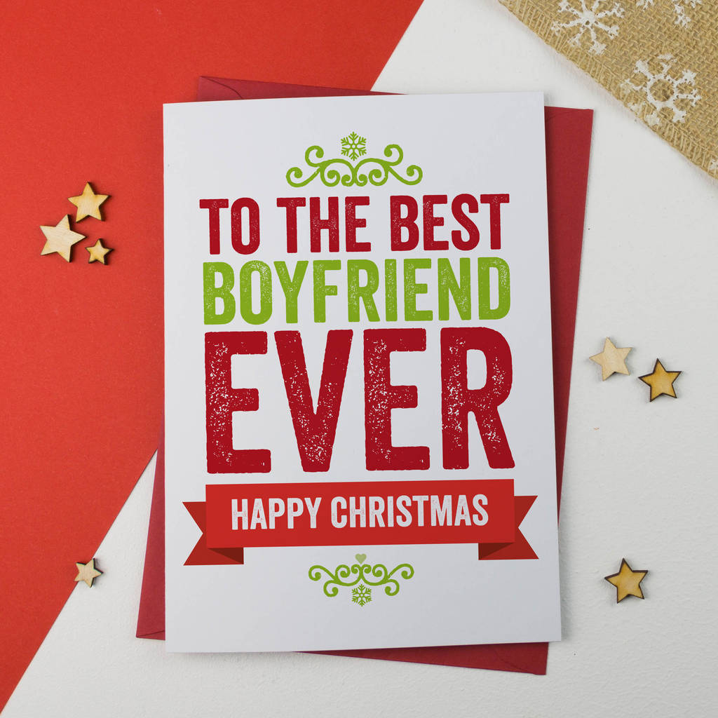 best boyfriend christmas card - Boyfriend Christmas Card