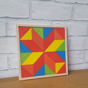 Mosaic Star Puzzle - stickers