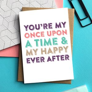 You're My Once Upon A Time Card - shop by category