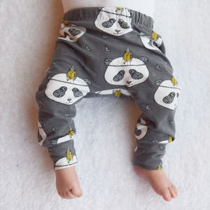 Panda Unisex Child And Baby Leggings