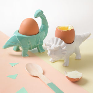 Dinosaur Egg Cup - easter homeware