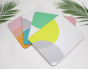 Colour Pop Set Of Placemats - placemats & coasters