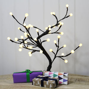 Mini LED Ball Light Tree - lights & lanterns