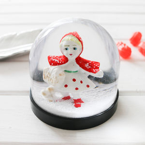 Snowglobe, Little Red Riding Hood - ornaments