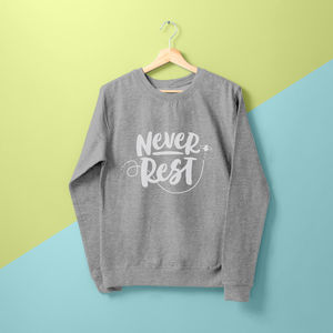 'Never Rest' Ladies Sweater - women's fashion