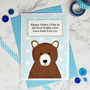 Personalise the card with your own wording for a special birthday / Father's Day