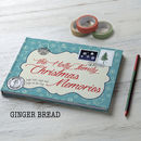 Christmas Memories Gingerbread 2017