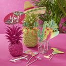 Tropical Hot Summer Party Photo Booth Props Pack