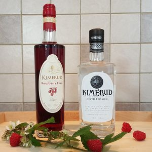 Kimerud Gin And Raspberry Elixir Twin Pack - gin