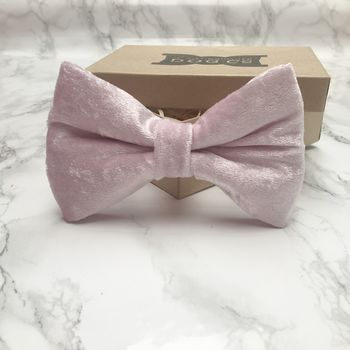 Wedding Luxe Velvet Dog Bow Tie Collection