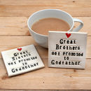 Godparent Ceramic Coaster