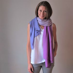 Multi Colour Cashmere Wool Wrap Shawl - gifts for her