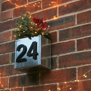 Urban House Number Planter - house numbers & doorbells