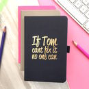 Personalised 'Fix It' Notebook