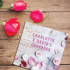 Personalised Valentine's Gift Cookbook - valentine's gifts for her