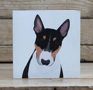 English Bull Terrier Card - all purpose cards