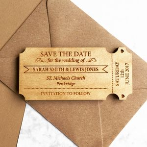 Save The Date Cards Notonthehighstreetcom - Save the date magnet templates