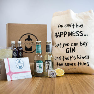 Three Months Of Gin And Tonic Boxes Gift Set - subscriptions