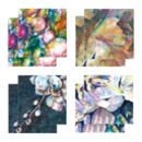 Eight Fine Art Watercolour Gift Cards Pack A