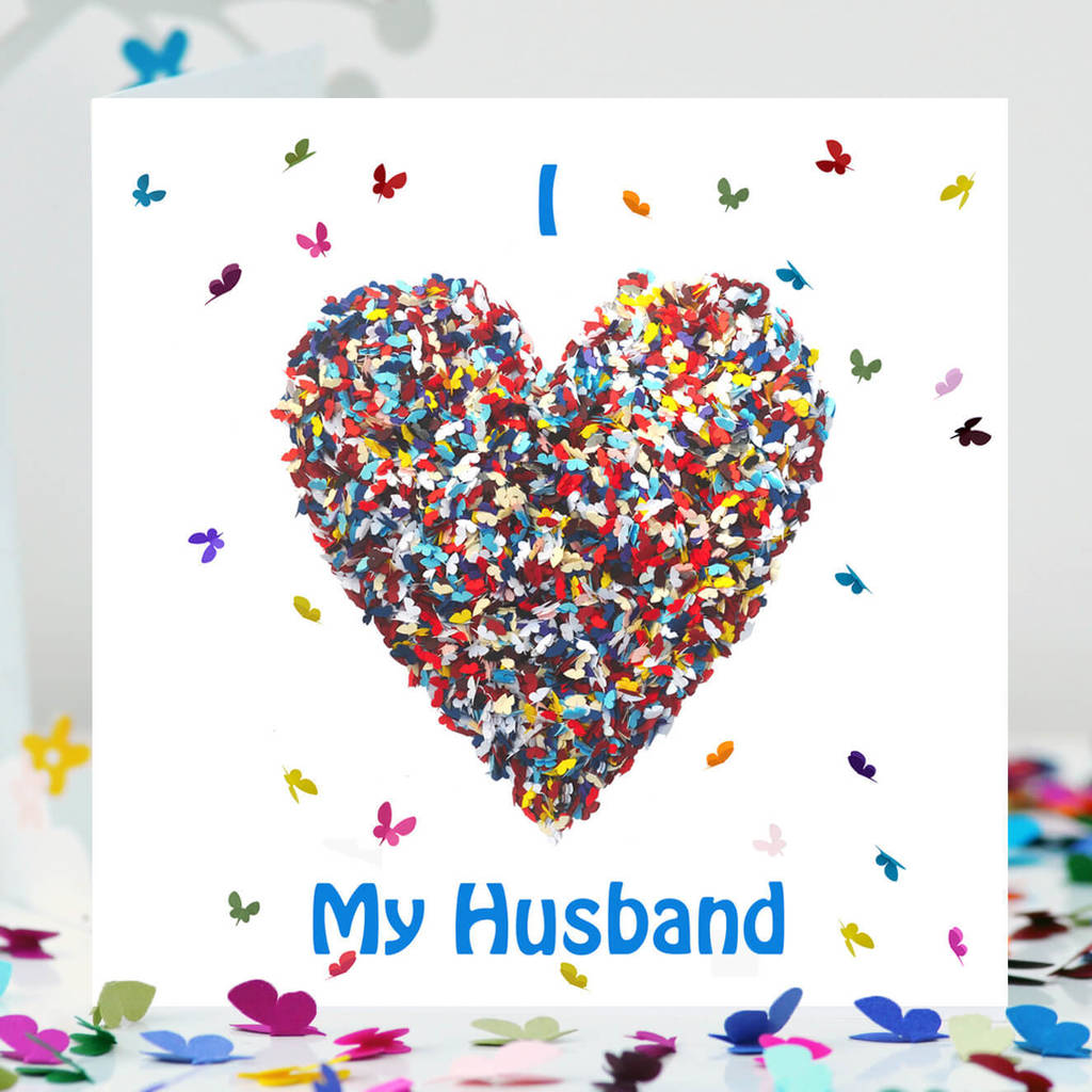 Husband Valentines Card Romantic Husband Card By Inkywool