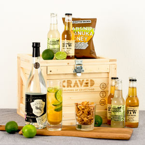 Craft Gin And Tonic Cocktail Kit - gin