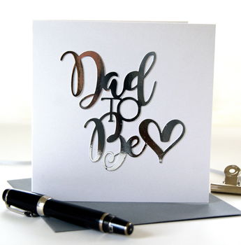 Dad To Be Card