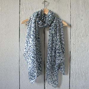 Little Love Heart's Print Scarf