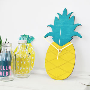 Pineapple Clock
