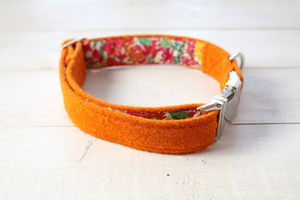Bonnie Harris Tweed Dog Collar - dogs