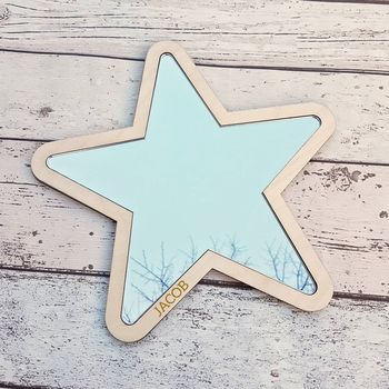 Personalised Childrens Star Mirror