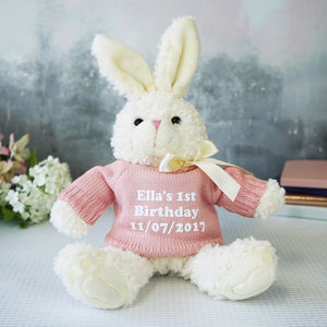 Personalised Bunny Rabbit Gift - summer sale