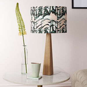 Patterned Table Lamp - what's new