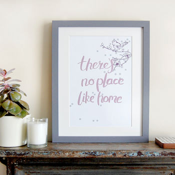There's No Place Like Home, Art Print