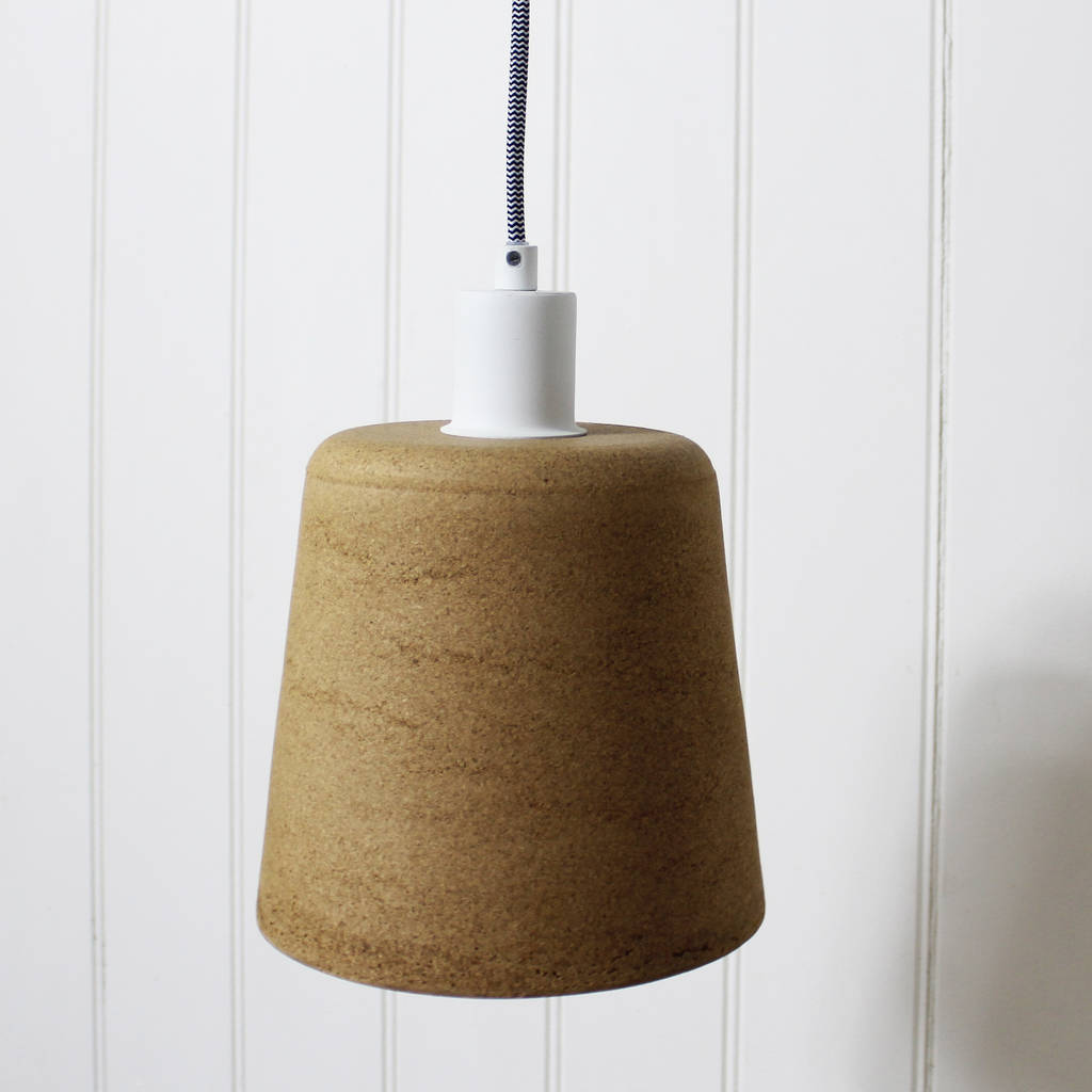 Cork Hanging Lamp