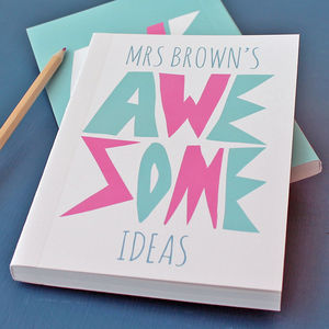 Personalised Awesome Notebook