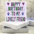 Personalised Birthday Book Card