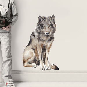 Wolf Wall Sticker - home accessories
