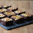 Orange And Almond Chocolate Brownies