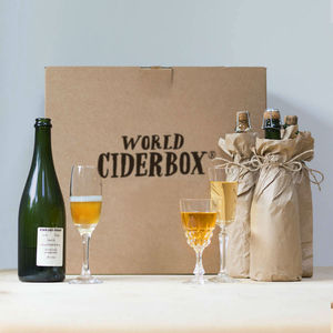 Four Bottle Fine Cider And Perry Gift Hamper - wines, beers & spirits