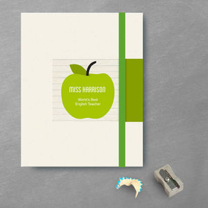 Thank You Teacher Notebook - gifts for teachers