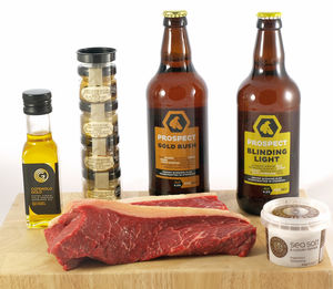 Steak And Ale Gift Box - beer & cider