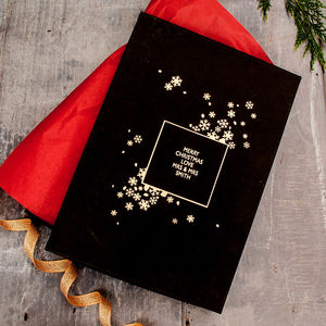 Personalised Snowflake Keepsake Gift Box