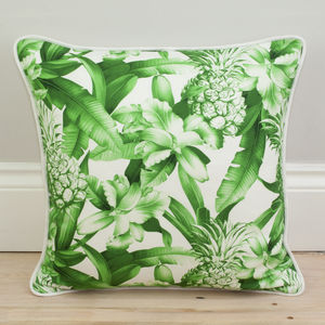 Pineapple Print Cushion - patterned cushions