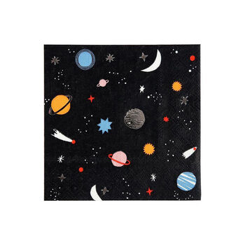Spaced Themed Party Napkins
