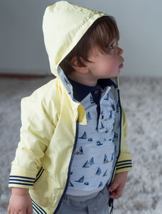 Reversible Baby Boy Jacket - clothing